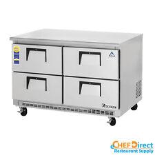 "Everest ETBR2-D4 48"" Four Drawer Undercounter Refrigerator"