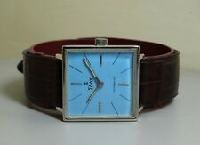 VINTAGE EDOX Winding SWISS MADE WRIST WATCH e127 Old used Antique Superb 472511