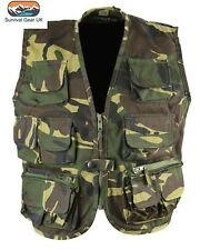 Kombat Kids Tactical Vest DPM Woodland Camo Waistcoat Children Army / Size 9-10