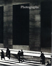 Photographs Published by Sotheby's, New York, 1996; Auction Sale 6888, Oct. 1996