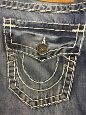 TRUE RELIGION RICKY SUPER T MEN JEAN MEDIUM DRIFFTER M859NXK2 NWT 33W $319