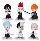 HOT Anime 6 Pieces Bleach Kurosaki Ichigo Toy Figurine Figure Doll Set