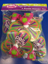 RARE Polly Pocket Mattel Doll Retro Kids Birthday Party Favor Horns Blowouts *