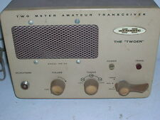 Heathkit Twoer (2 meter)  lunchbox transceiver Lot-1