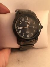 Timex T2P135, Men's Gray Dress Expansion Watch, Indiglo, Date, T2P1359J-H16