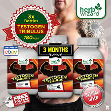 180 HARDCORE TABLETS ANABOLIC TRIBULUS TERRESTRIS TESTOSTERONE BOOSTER PILLS
