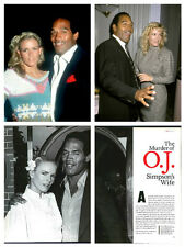 OJ Simpson Nicole Brown Simpson magazine clippings & articles 800+ HUGE LOT