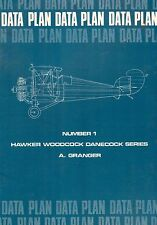 TWO Data Plans by Alfred Granger (Hawker Woodcock & Bristol Bulldog)