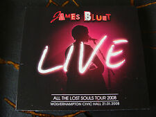 Slip Double: James Blunt : All The Lost Souls Tour Live Wolverhampton 2008