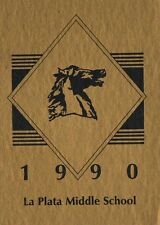 Yearbook Silver City New Mexico NM La Plata Middle School 1990