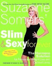 Suzanne Somers' Slim & Sexy Forever Hormone Solution FOR Weight Loss HC Like New