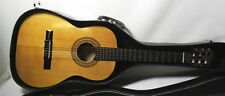 MITELLO MODEL CG-089 ACOUSTIC. VINTAGE CLASSICAL GUITAR WITH CASE