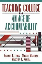 VG, Teaching College in an Age of Accountability, Kysilka, Marcella L., McIntosh