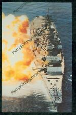 U.S.S. Iowa (BB-61) 1984 Navy Battleship (SH#2 (103)*NEW!! post card