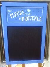Francese Shabby Chic FLEURS DE PROVENCE Blu Cucina Gesso Memo Board NUOVO CON ETICHETTA