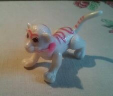 Littlest pet shop McDonalds TONKA 1996 Tiger white PINK