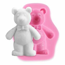 Silicone 3D Bear Fondant Cake Icing Sugarcraft Decorating Mould DIY Tools Crafts