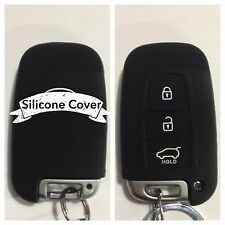 BLACK CAR SMART KEY COVER CASE PROTECTOR RIO SPORTAGE PICANTO SOUL FORTE FOR KIA