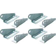 4 Pack Galvanized Heavy Duty Two Piece Boat Trailer Keel or Spool Roller Bracket