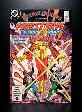 COMICS: DC: Secret Origins #4 (1980s), Firestorm - RARE (figure/batman/flash)