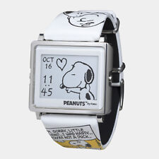New EPSON Smart Canvas WOW matrix EPD Digital Watch Peanuts Snoopy Japan F/S EMS