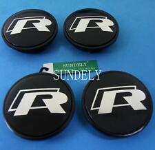R-LINE CAR ALLOY WHEEL CENTER CAP HUB 65MM FOR VW Golf/Polo/R64/R32 3B7601171
