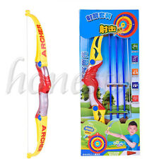 Bow and Arrow Set for Children's Military  Bow Great Gifts Simulation Sport Toy