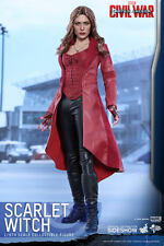 HOT TOYS SCARLET WITCH CIVIL WAR MMS370 1/6 SCALE FIGURE