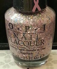 OPI PINK OF HEARTS More than a glimmer nail polish lacquer New glitter