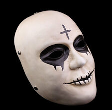 Handmade Resin The Purge Anarchy 2 Style Mask Horror Killer Cross Halloween Mask