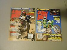 LOT OF 2 1998 4 STROKE DIRT BIKE MAGAZINES,VOL.1#1 VOL.1#2 ISSUES. TY DAVIS,AMA