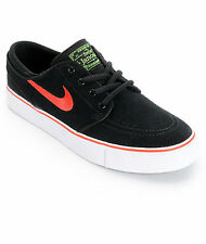 Mens NIKE ZOOM STEFAN JANOSKI sz 11.5 SB Athletic Shoes Black 333824-064 Skate