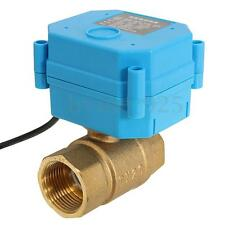 DN20 G3/4'' 2N*M CR01 DC12V 2 way Blue Brass Motorized/Electrical Ball Valve
