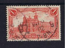 Deutsches Reich o MiNr 78Aa geprüft 1 Mark ohne Wz, bessere Farbe