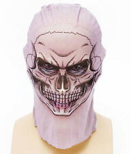 Tatoo Net Tights Mask Skull Skeleton Halloween Fancy Dress