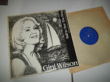 Gini Wilson LIVE PRIVATE FEMALE VOCAL LOUNGE JAZZ LP NM SAIL TO SEE THE KING