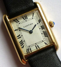 CARTIER Solid 18K GOLD Louis Tank