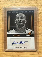 KOBE BRYANT 13-14 PINNACLE SUPERSTARS AUTO (black And White) SUPER RARE!!!