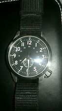 Marathon pilot Maratec Watch 47 mm Sapphire crystal black nato band awesome !!!