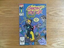 1990 VINTAGE MARVEL GHOST RIDER # 2 SIGNED BY MARK 'TEX' TEXEIRA ART, WITH POA
