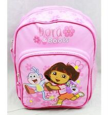 "NWT Dora the Explorer 10"" Mini Backpack School Bag- Dora & Boots Pink by Nick"