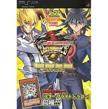 Yu-Gi-Oh! 5D's TAG FORCE6 Limit Over Tag Duel official guide book / PSP