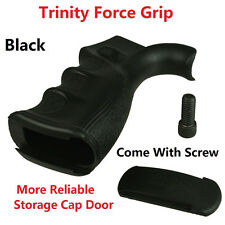 Trinity Force Rear Grip Finger Groove Reliable Storage Door BLack Screw