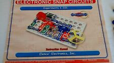 Electronic Snap Circuits Experiments 1-101 - 100% Complete - FREE SHIPPING