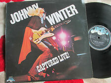 Johnny Winter ‎– Captured Live! Blue Sky ‎– S SKY 69230 Vinyl LP Album
