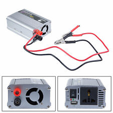 500W 12V DC to AC 220V Car Auto Vehicle Power Inverter Adapter Converter New ESD