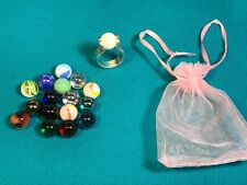 Got Your Marbles Interchangable Ring with Colored Gem Marbles