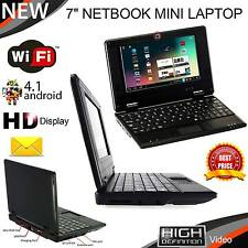 7 MINI NETBOOK? Laptop 4GB WiFi Android notebook PC portatile a Buon Mercato & LOOK SMART