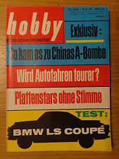 Hobby 64/24 BMW 700 LS Coupe (Test)
