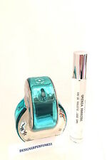 BVLGARI OMNIA PARAIBA .33oz (10ml) EDT TRAVEL PERFUME ATOMIZER SPRAY + SAMPLE